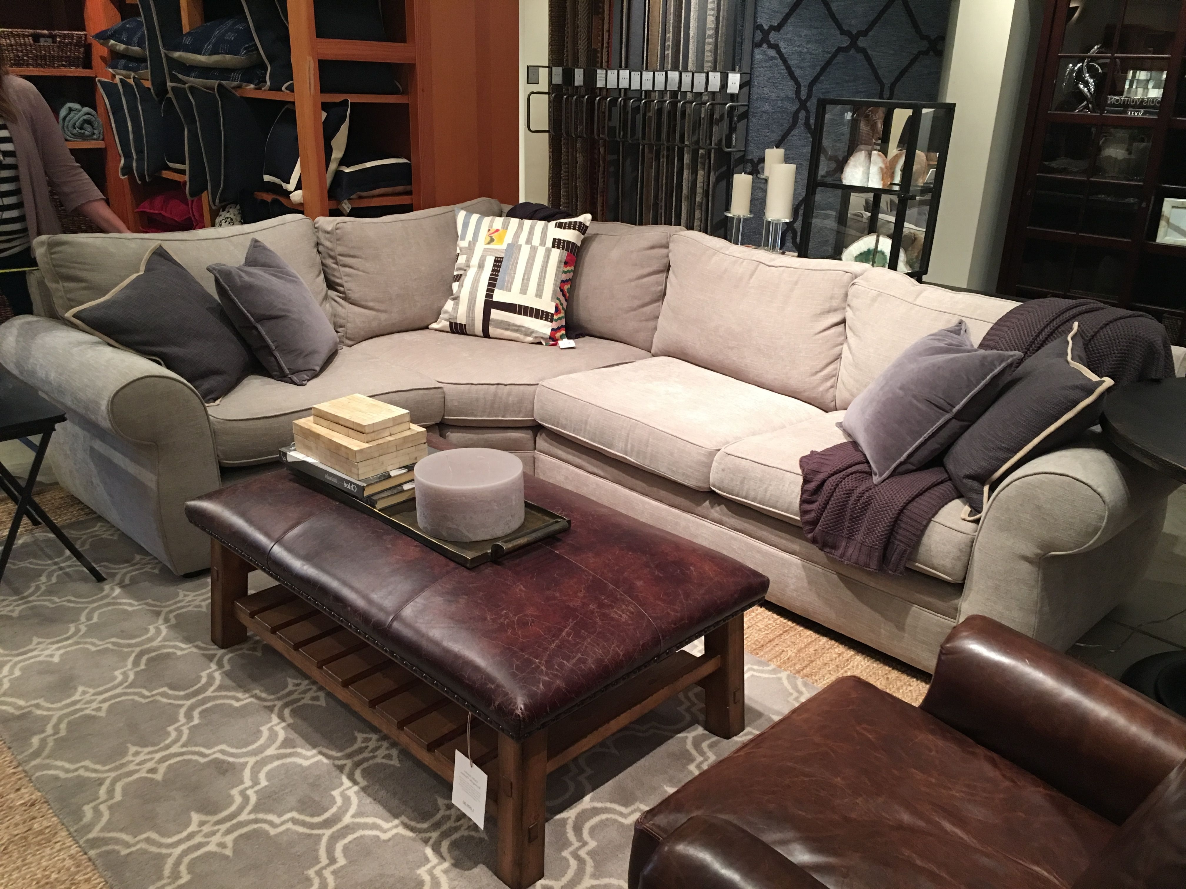 Preferred Pottery Barn Sectional Sofas With Pottery Barn (View 14 of 20)