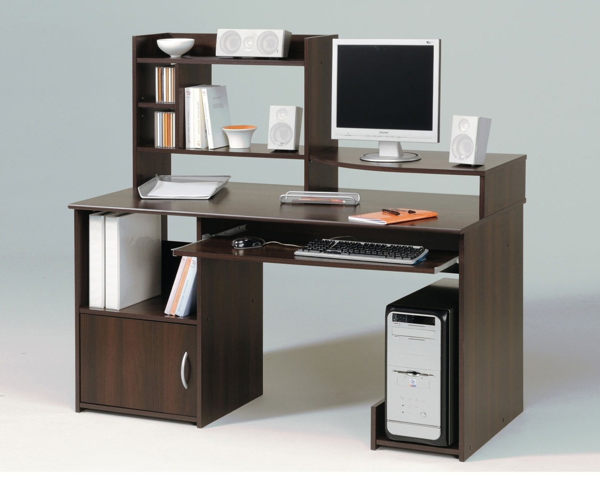 Preferred Quality Computer Desks Pertaining To Small Wooden Desk Narrow Computer Desk Office Table Desk Home (View 10 of 20)
