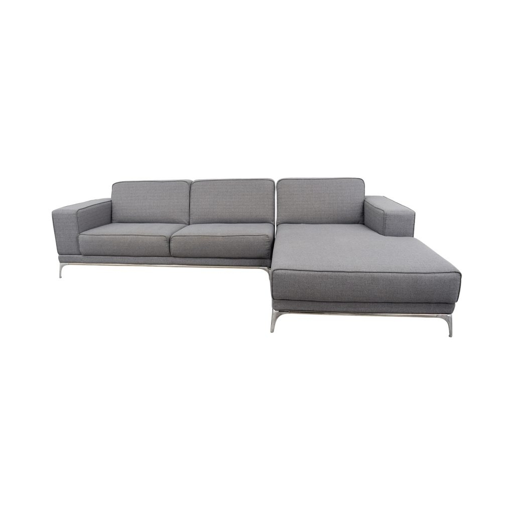 Preferred Quebec Sectional Sofas Within Off Agata Light Grey Sectional Sofas Gray Sofa Modern Fabric (View 19 of 20)
