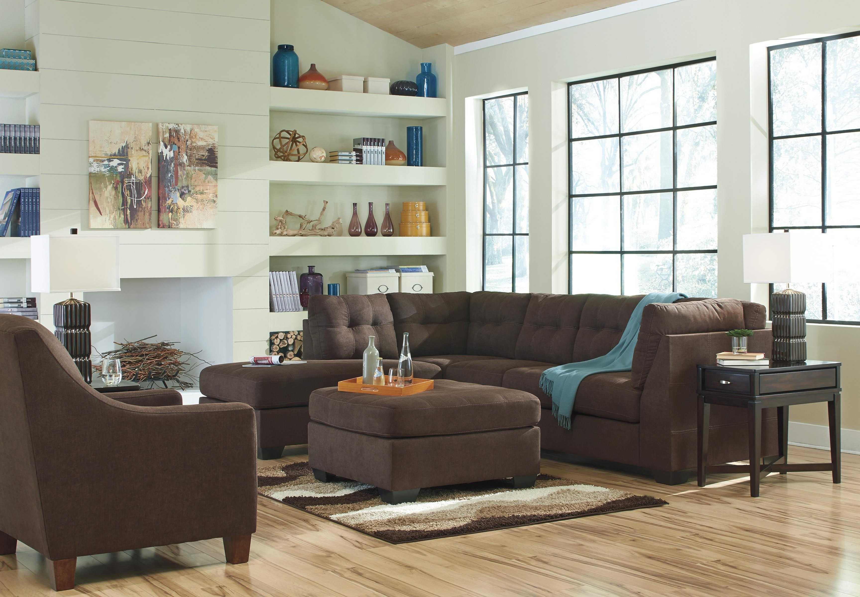 Preferred Sectional Sofas That Come In Pieces In 2 Piece Sectional With Right Chaisebenchcraft (View 8 of 20)