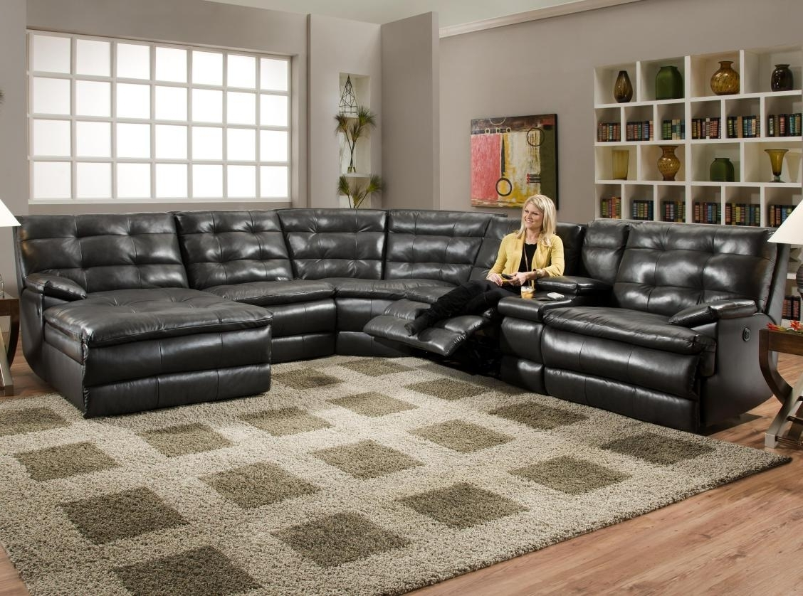 Preferred Sectional Sofas With Electric Recliners In Recliner : Ideal Sofa Recliner Fabric Fabulous Sectional Sofa With (View 20 of 20)