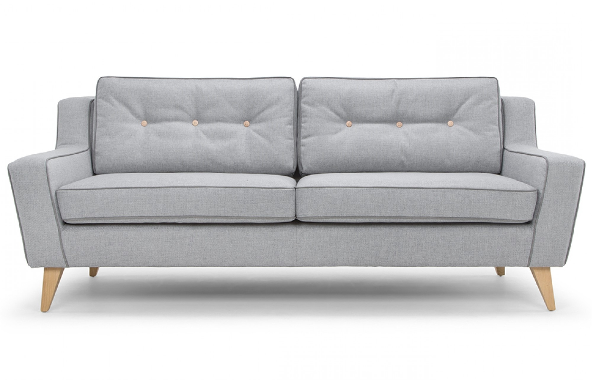 Preferred Stone Grey 3 Seater Sofa – Lounge Furniture – Out & Out Original In Modern 3 Seater Sofas (View 6 of 20)