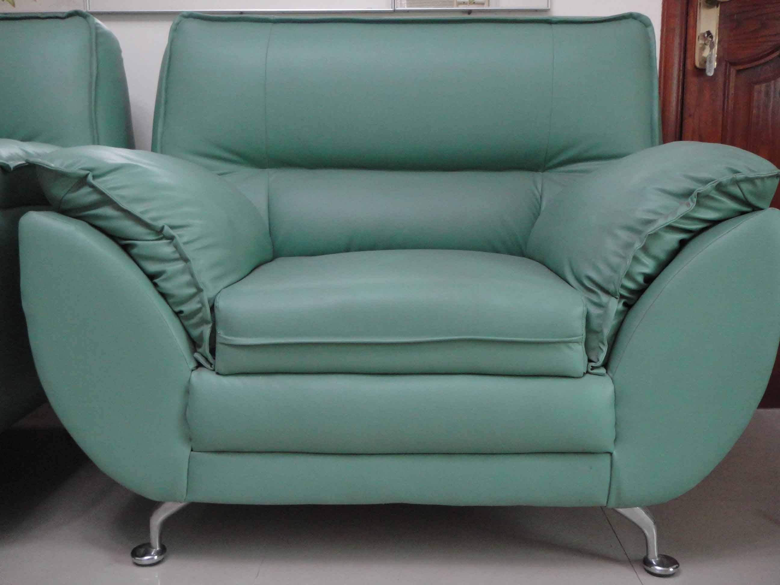 Preferred Unusual Sofas With Regard To Furniture Interesting Chic Green Leather Sofa For Your Living Room (View 12 of 20)