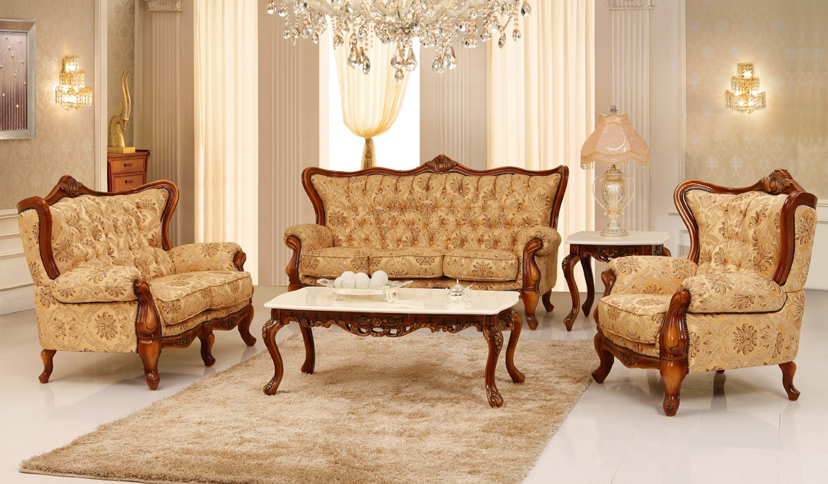 Preferred Victorian Leather Sofas Intended For Living Room : Stunning Victorian Style Living Room With Crystal (View 11 of 20)