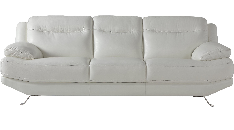 Preferred White Leather Sofas Regarding White Leather Sofas & Couches (View 15 of 20)