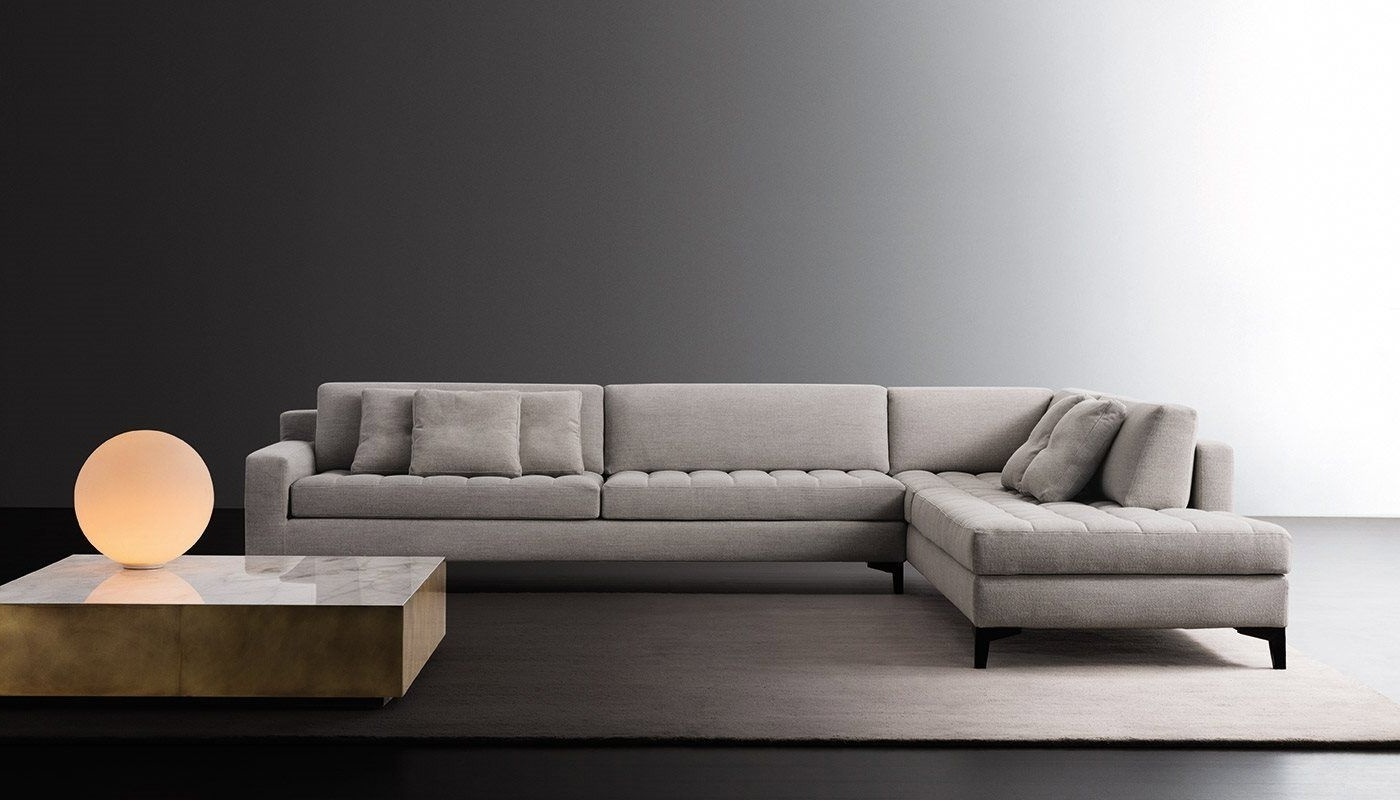Prince Modular Sofa And Belt Low Tablemeridiani Design Andrea Intended For Famous Low Sofas (View 16 of 20)