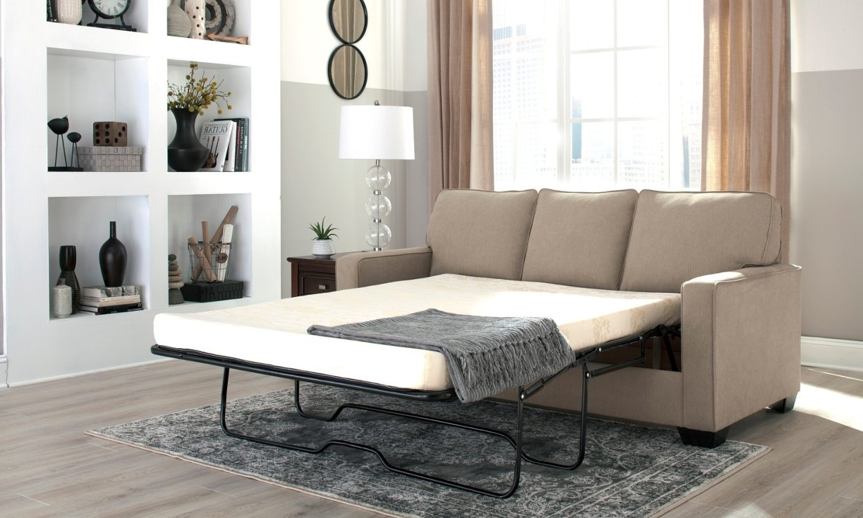 Pull Out Sofa Chairs Inside Preferred How To Make A Pull Out Sofa Bed More Comfortable – Overstock (View 20 of 20)