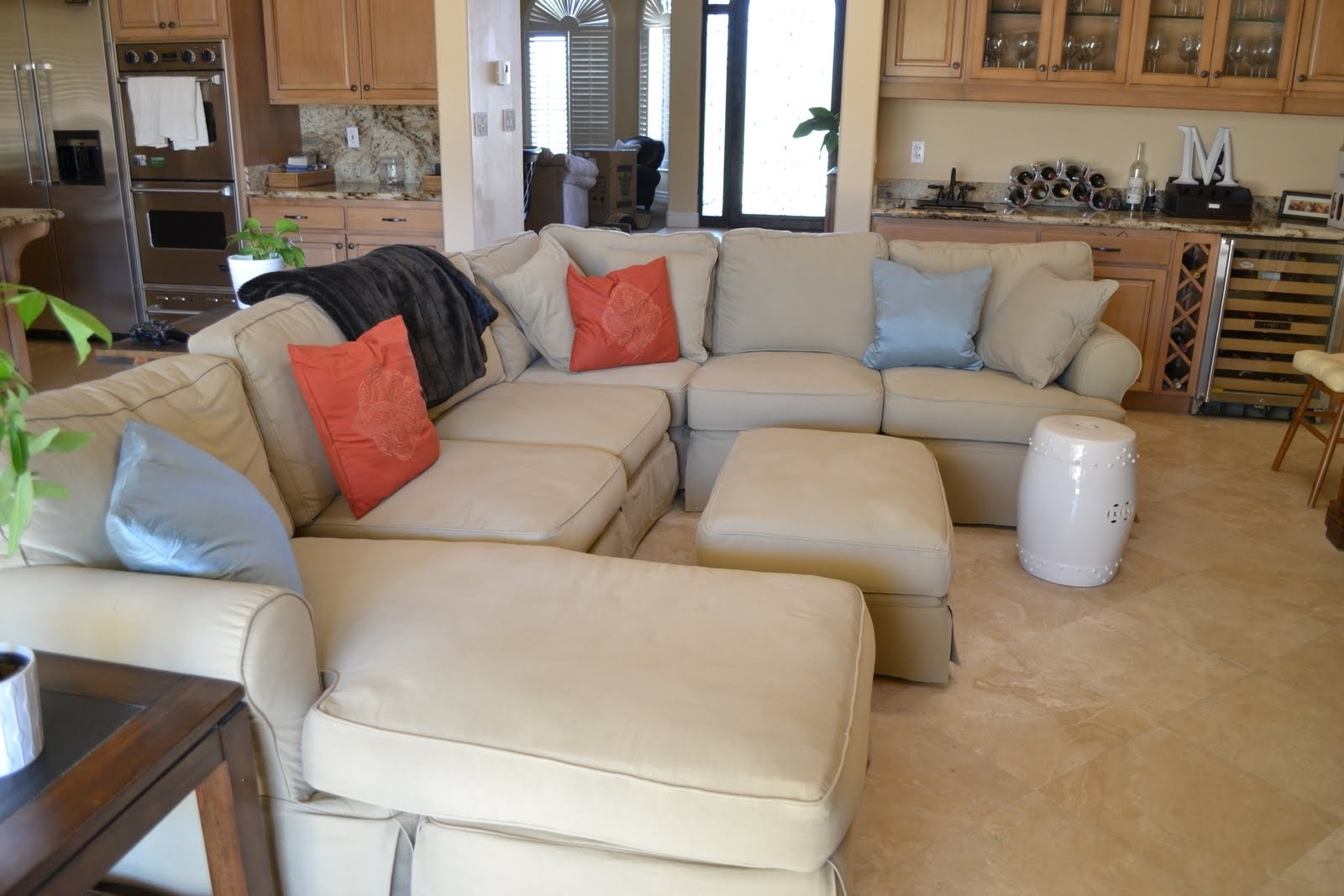 Quad Cities Sectional Sofas Inside Fashionable 3 Piece Sectional Slipcovers — Cabinets, Beds, Sofas And (Gallery 11 of 20)