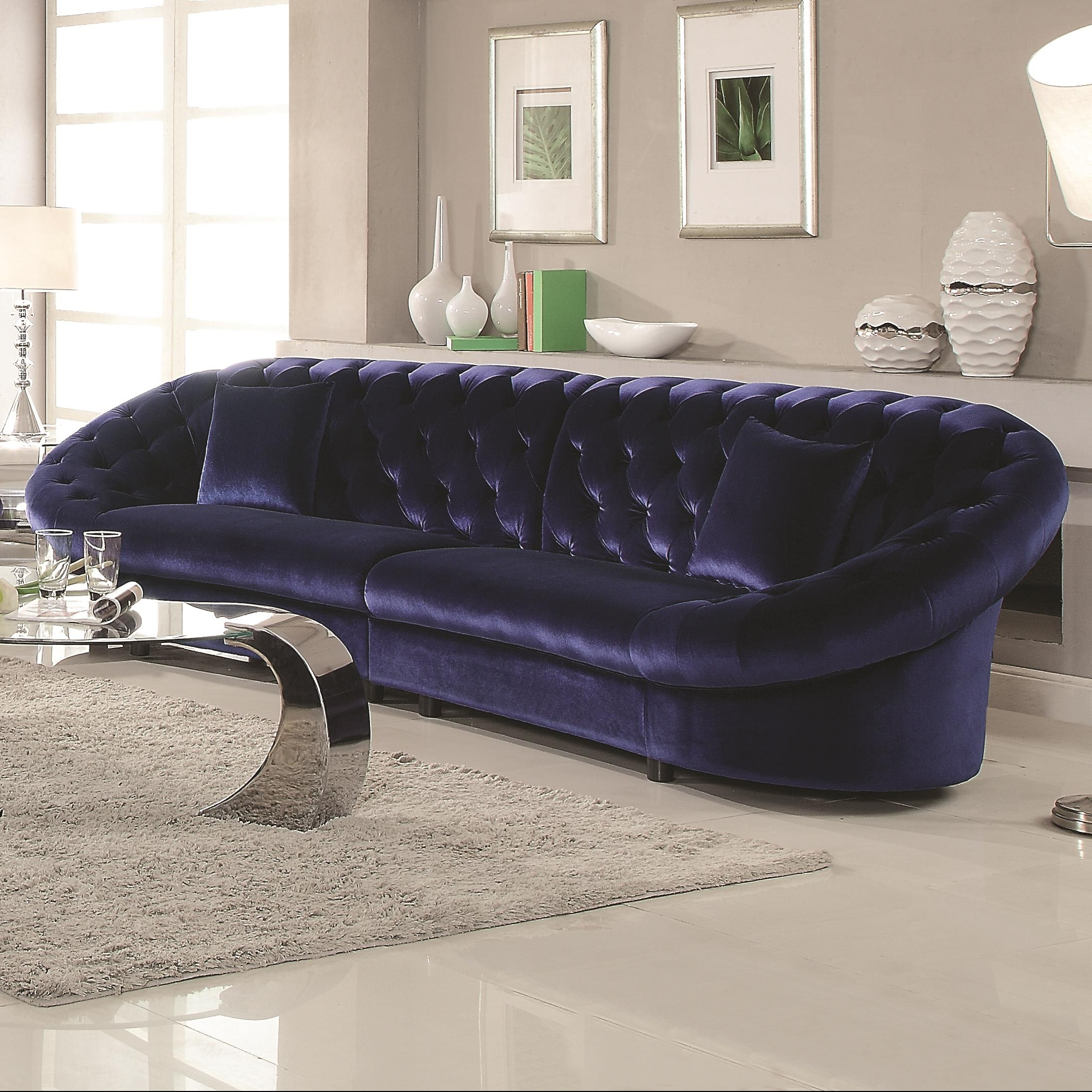 Quality In Velvet Sectional Sofas (View 10 of 20)