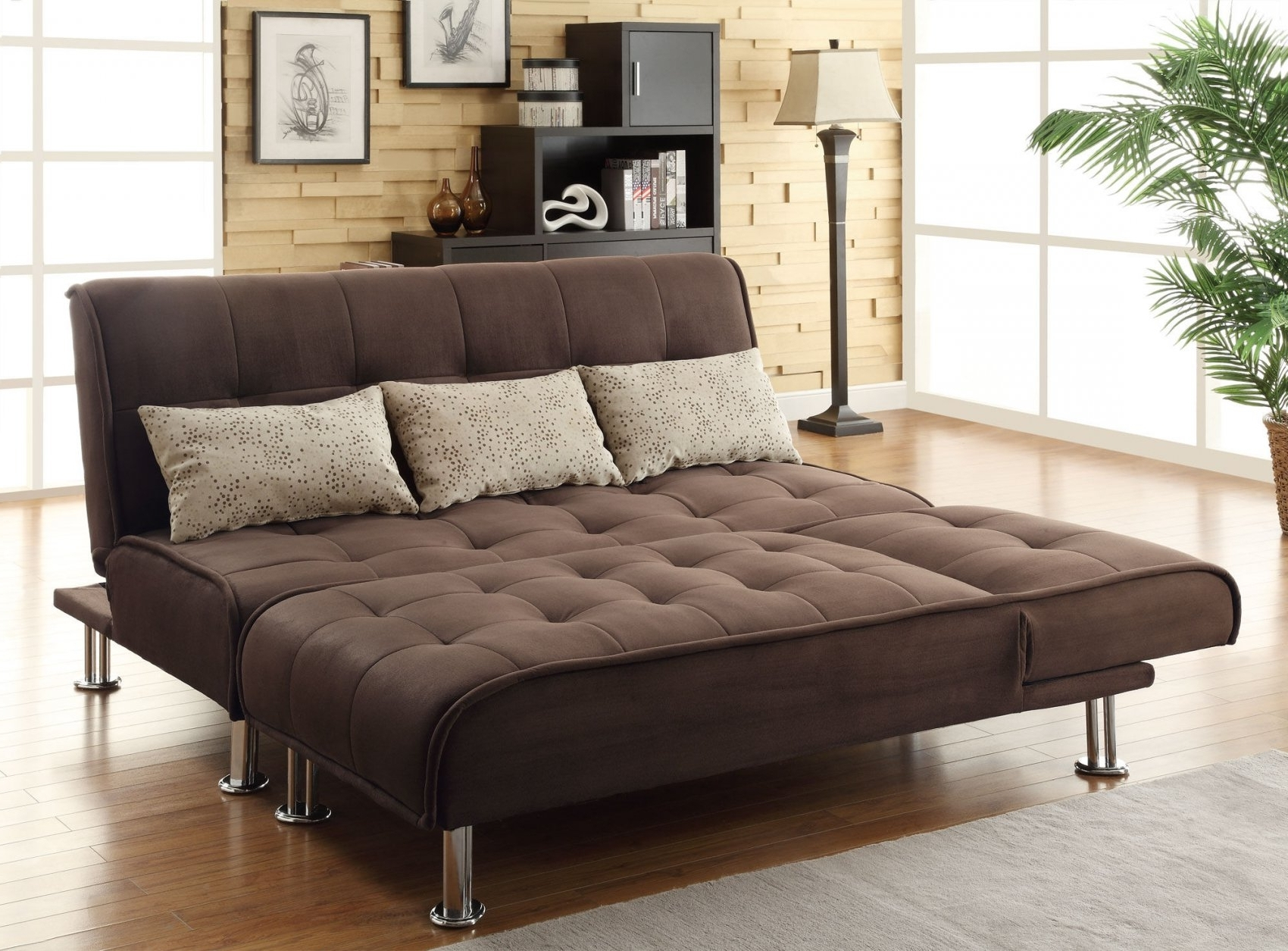 Queen Size Sofas With Most Popular Queen Size Convertible Sofa Bed 46 About Remodel Pepperfry (Gallery 4 of 20)