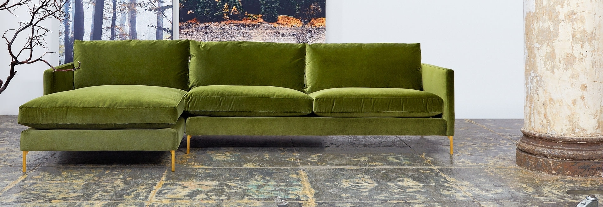 Queens Ny Sectional Sofas For 2018 Cobble Hill Furniture At Abc Home (View 10 of 20)