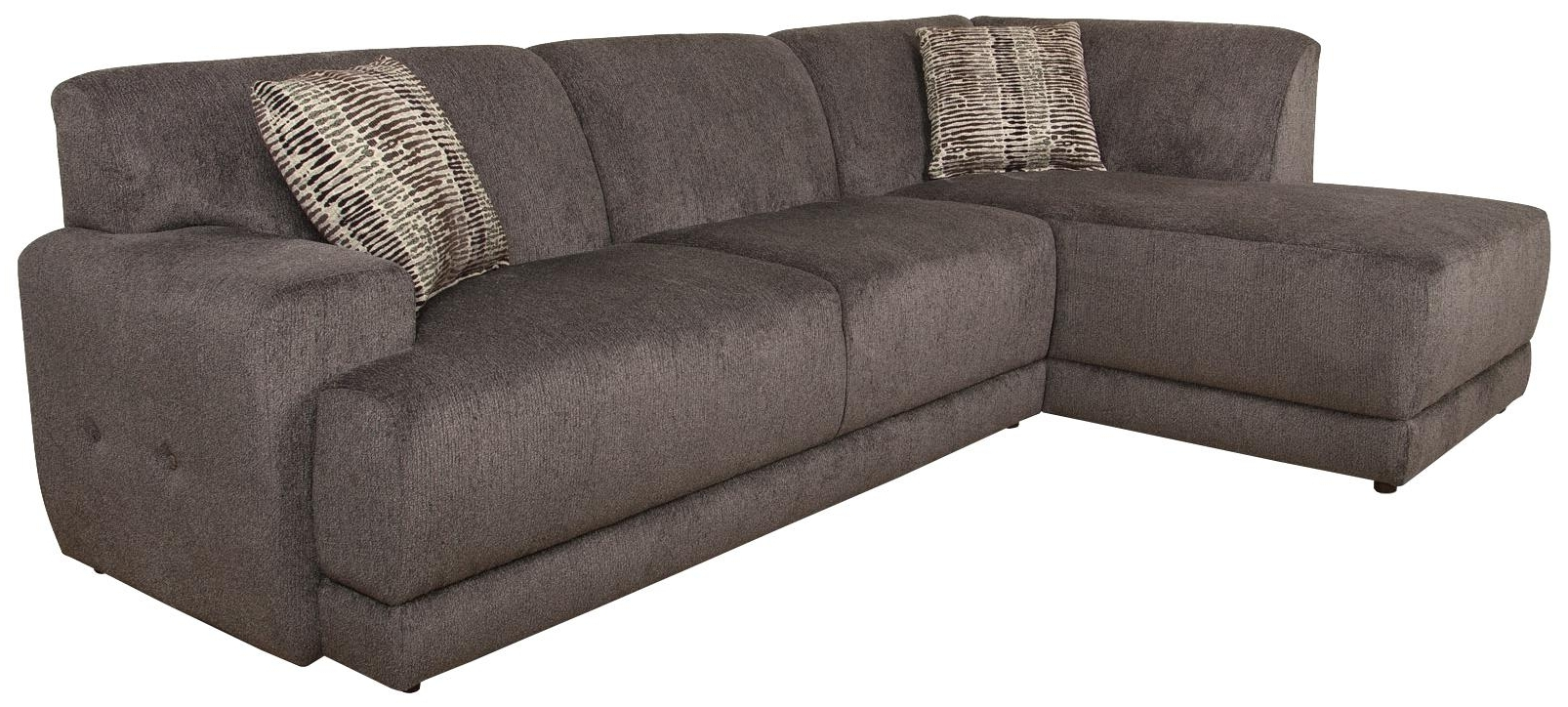 Quincy Il Sectional Sofas Intended For Trendy Lackawanna Sectional Sofaengland – Sherman's – Reclining (View 14 of 20)