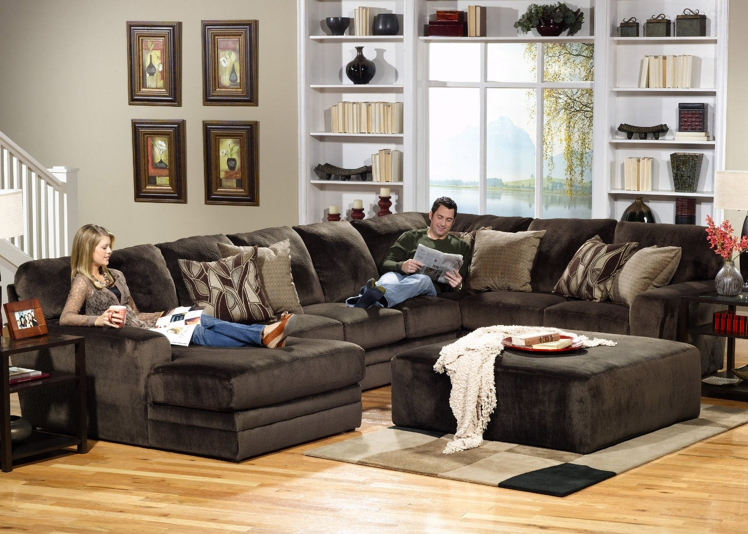 Rainier 3 Piece Sectional (View 5 of 20)