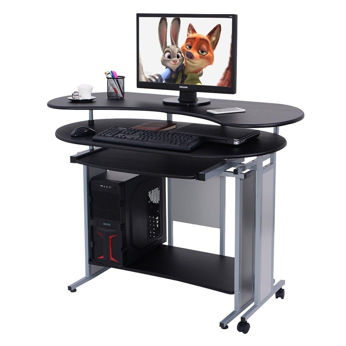 Rakuten: Costway Expandable L Shaped Computer Desk Pc (View 13 of 20)