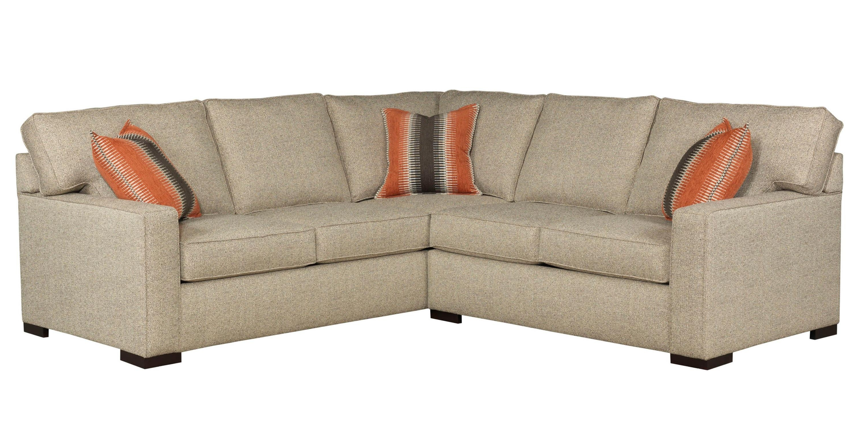 Raphael Two Piece Sectional Sofabroyhill Furniture – 8X8 With Current Sectional Sofas At Broyhill (View 12 of 20)