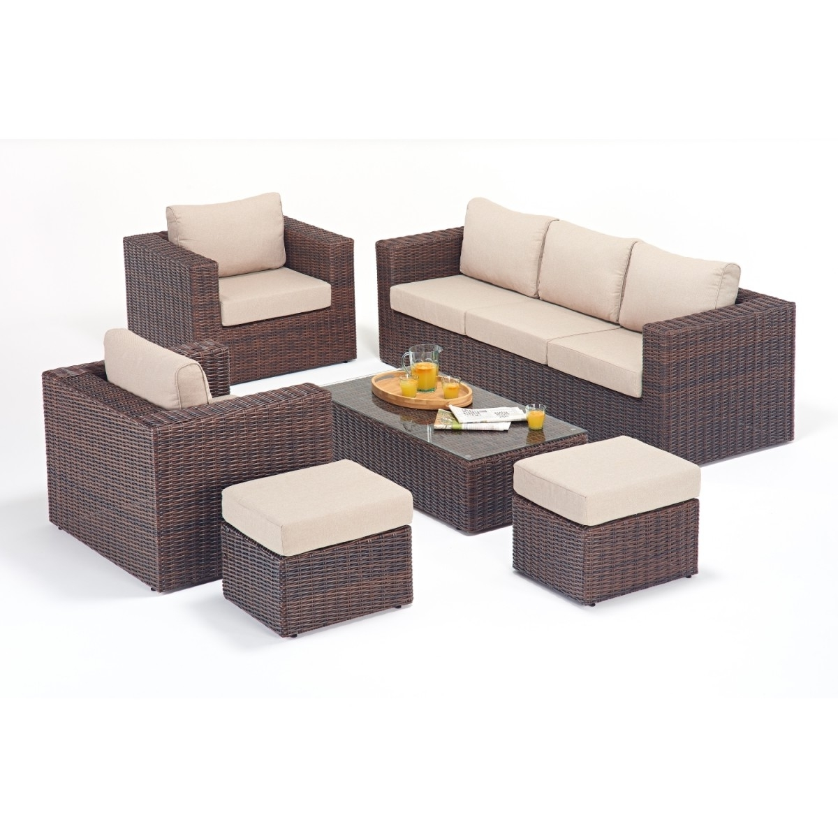Rattan Sets – Windsor Large Sofa Set Wgf 2706 Throughout Newest Windsor Sofas (View 7 of 20)
