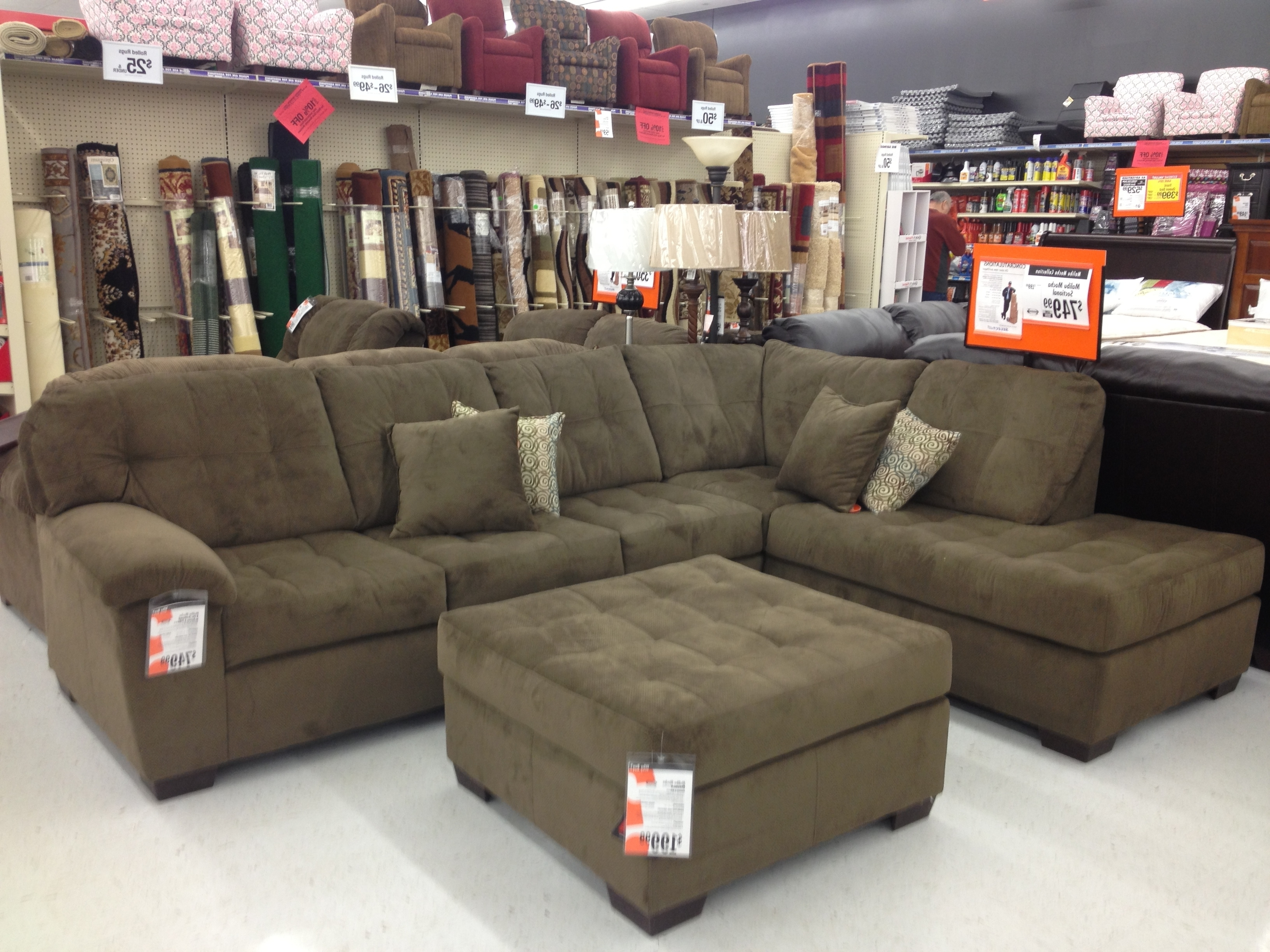 Recent Lots Sofas In Simmons Leather Sofa View 16