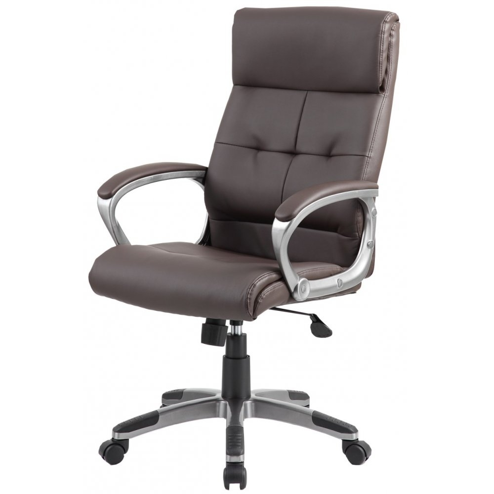 Recent Chair : High Back Executive Leather Office Chair Lumbar Support In Executive Office Chairs With Back Support (View 8 of 20)