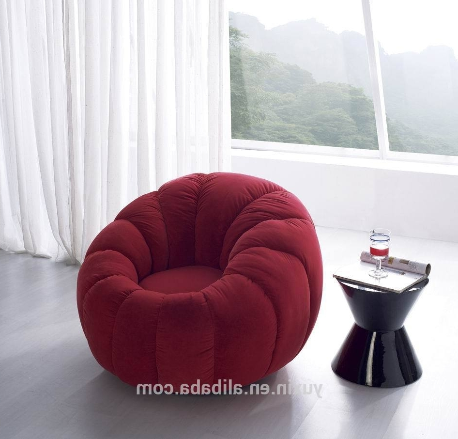 Recent Chair : White Sofa Chair Circle Shaped Couch Large Circular Couch Pertaining To Circular Sofa Chairs (View 2 of 20)