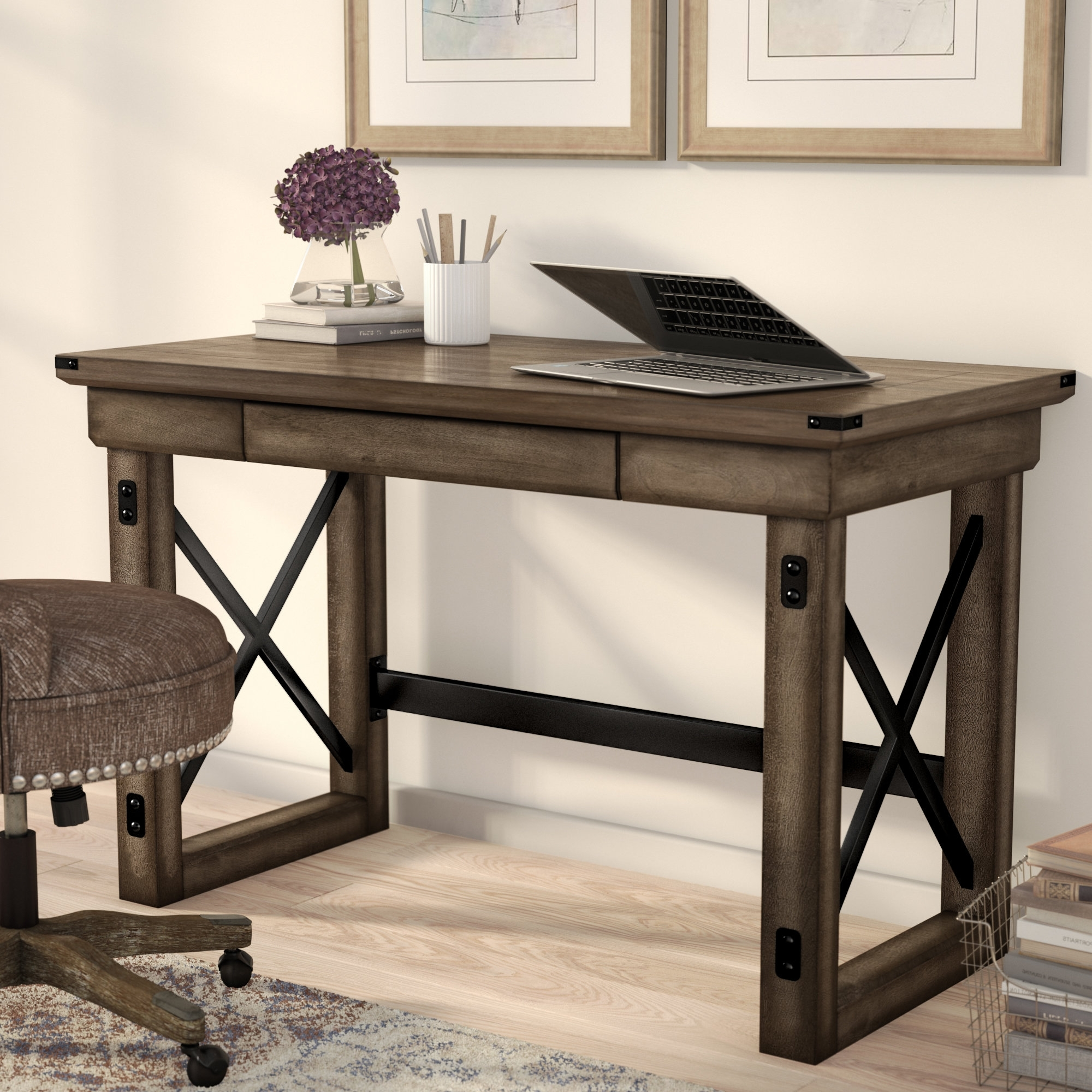 Recent Computer Desks At Wayfair Intended For Desks You'll Love (View 15 of 20)