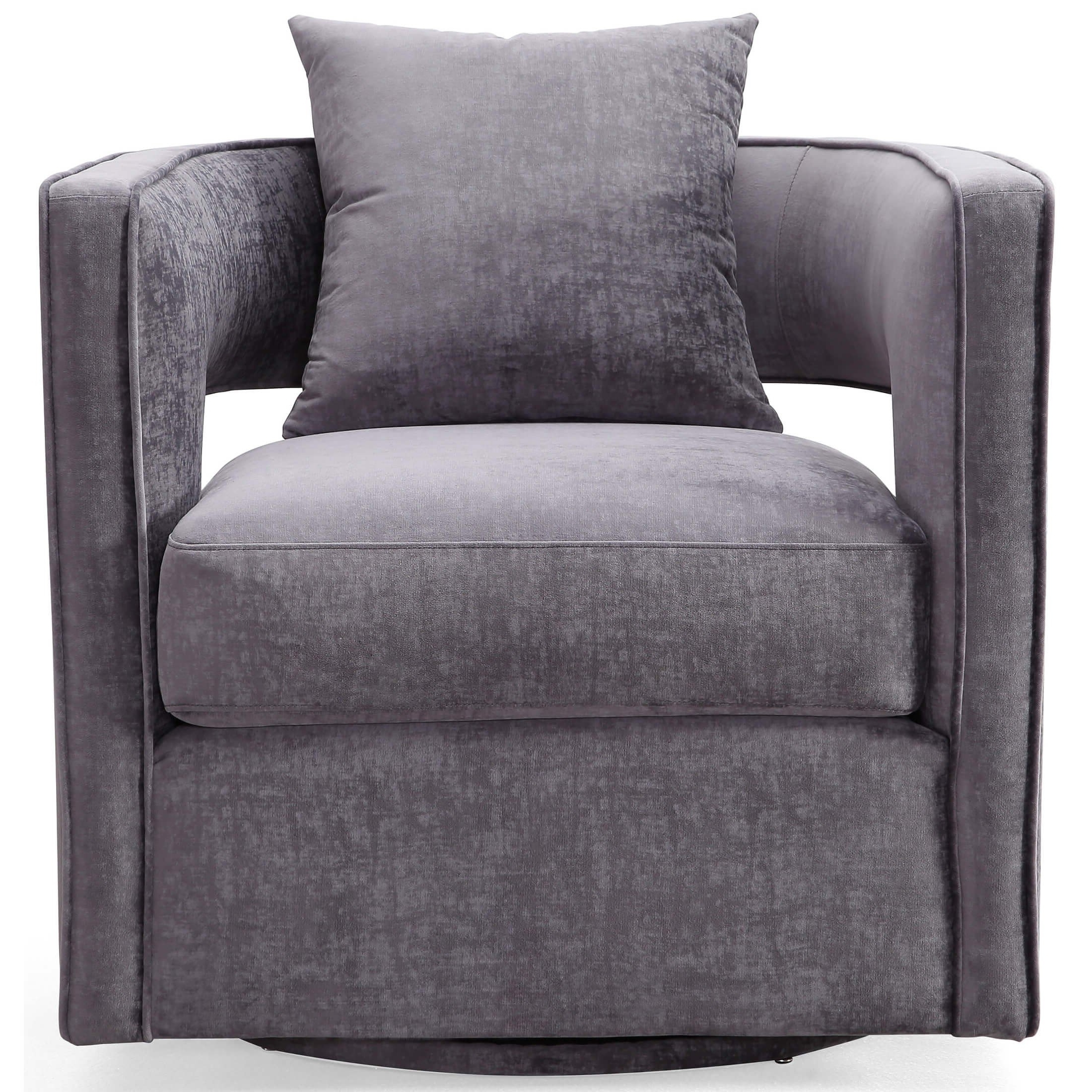 Recent Contemporary Swivel Chairs Tags : Leather Swivel Club Chairs Mid In Round Swivel Sofa Chairs (View 18 of 20)