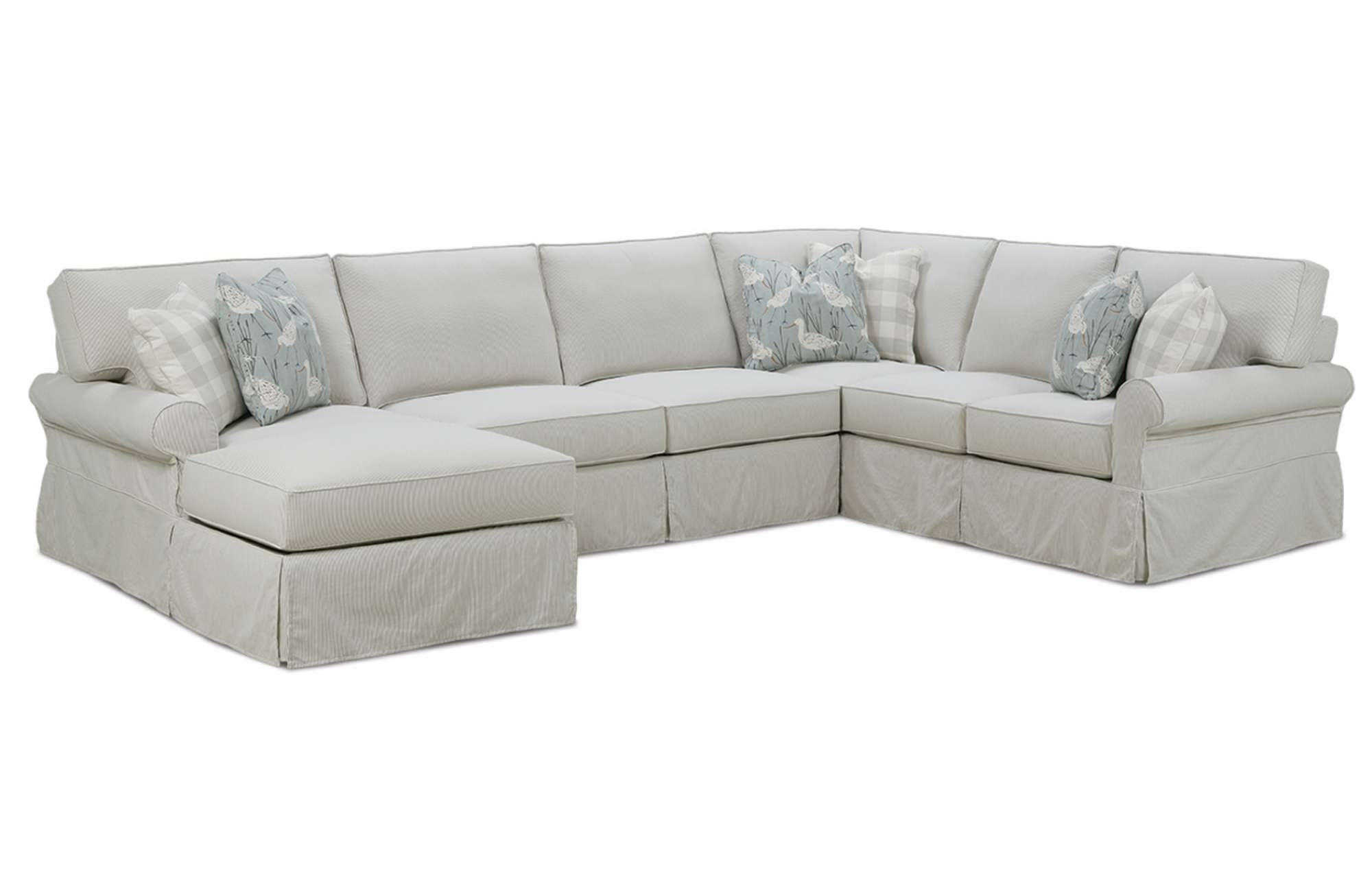 Recent Easton Slipcover Sectionalrowe Furniture With Regard To Furniture Row Sectional Sofas (View 4 of 20)