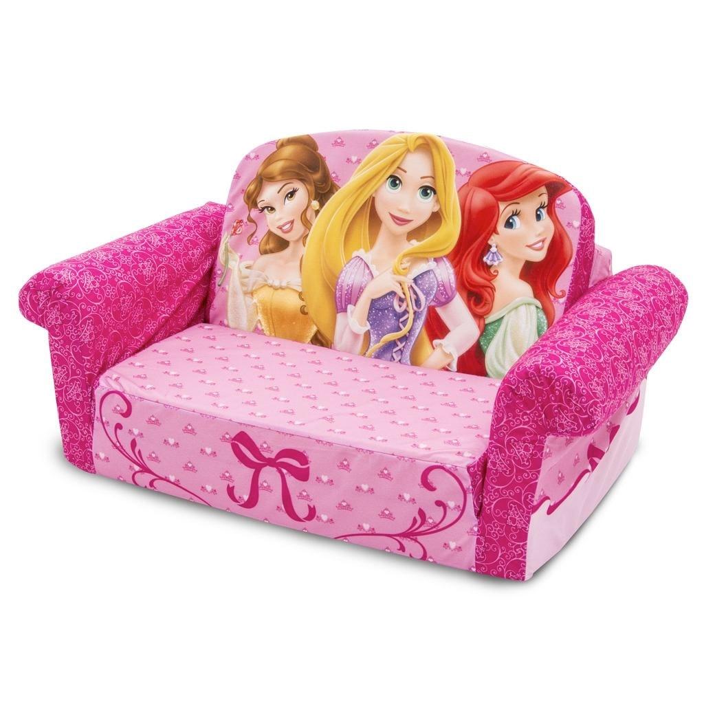 Recent Flip Out Sofas With Regard To Spin Master – Marshmallow Furniture Flip Open Sofa Disney Princess (View 17 of 20)