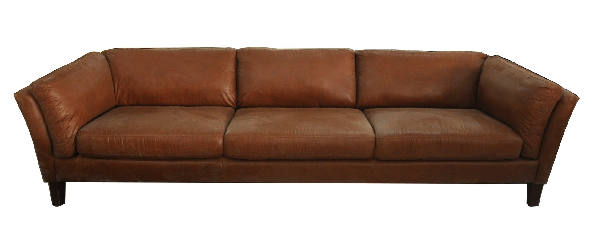 Recent Foundry Select Condron 3 Seater Leather Sofa & Reviews (View 16 of 20)