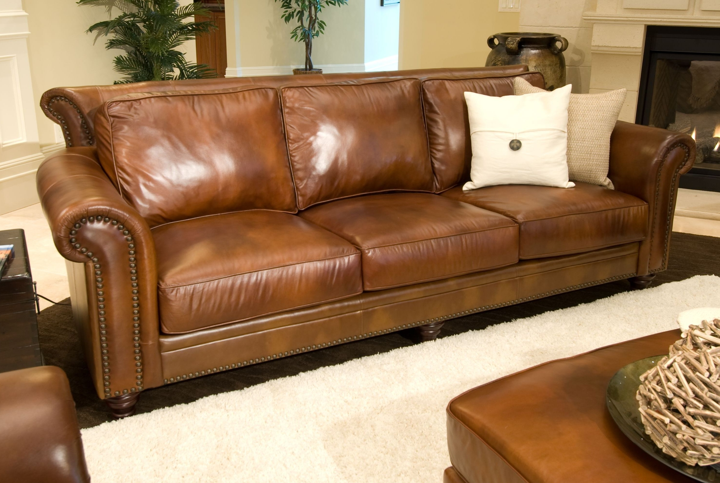 Recent Furniture : Delightful Country Living Room Ideas Also Light Brown Throughout Light Tan Leather Sofas (View 2 of 20)