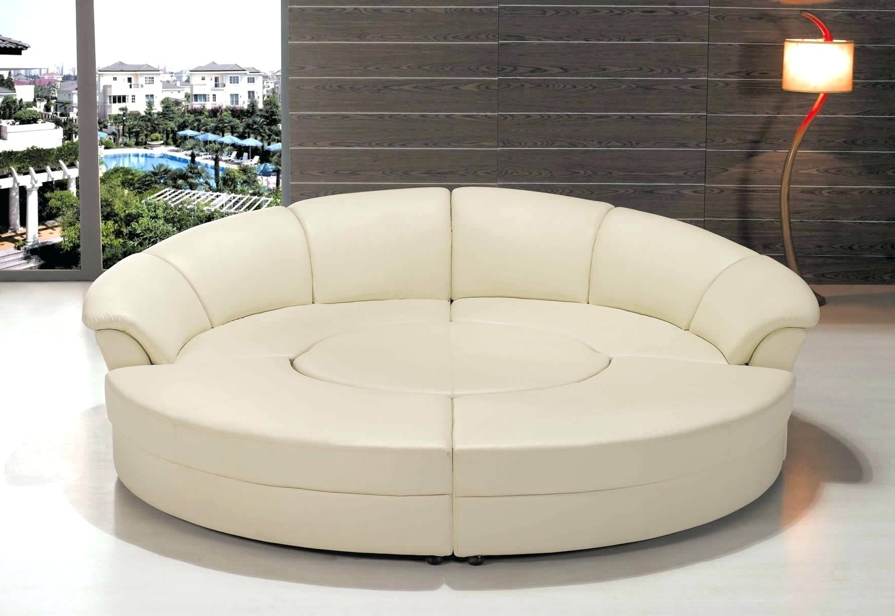Recent Furniture : Round Sectional Sofa Covers New Round Sofa Covers Pertaining To Rounded Sofas (View 5 of 20)