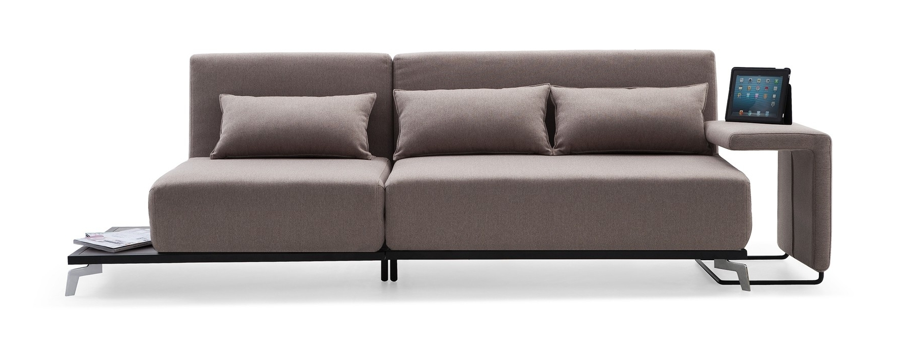 Recent Jh033 Modern Sofa Bed Intended For Contemporary Sofas And Chairs (View 15 of 20)