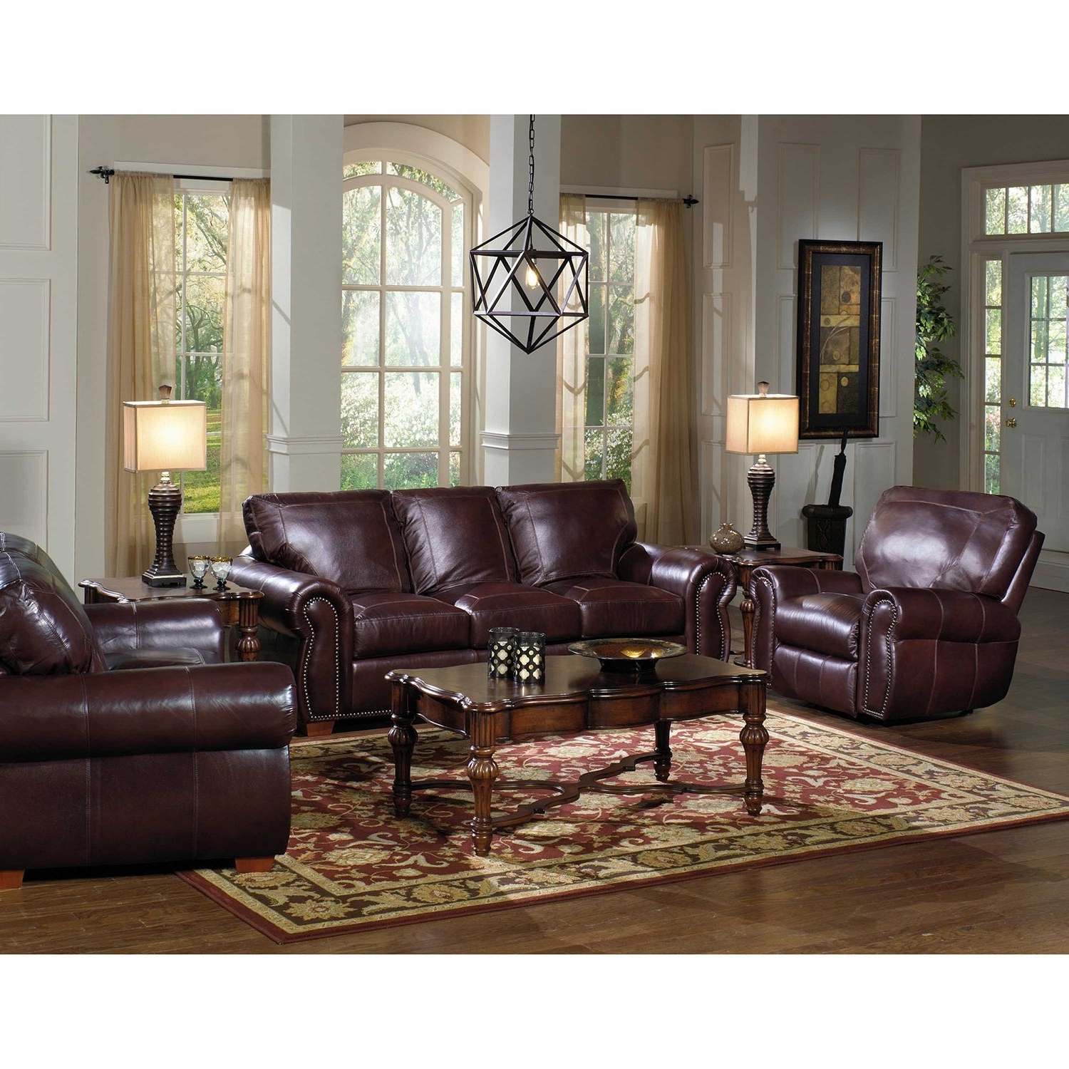 Recent Kingston Top Grain Leather Sofa, Loveseat And Recliner Living Room With Kingston Sectional Sofas (View 14 of 20)