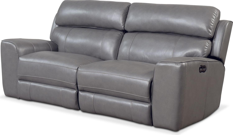 Recent Newport 2 Piece Power Reclining Sofa – Gray (View 17 of 20)