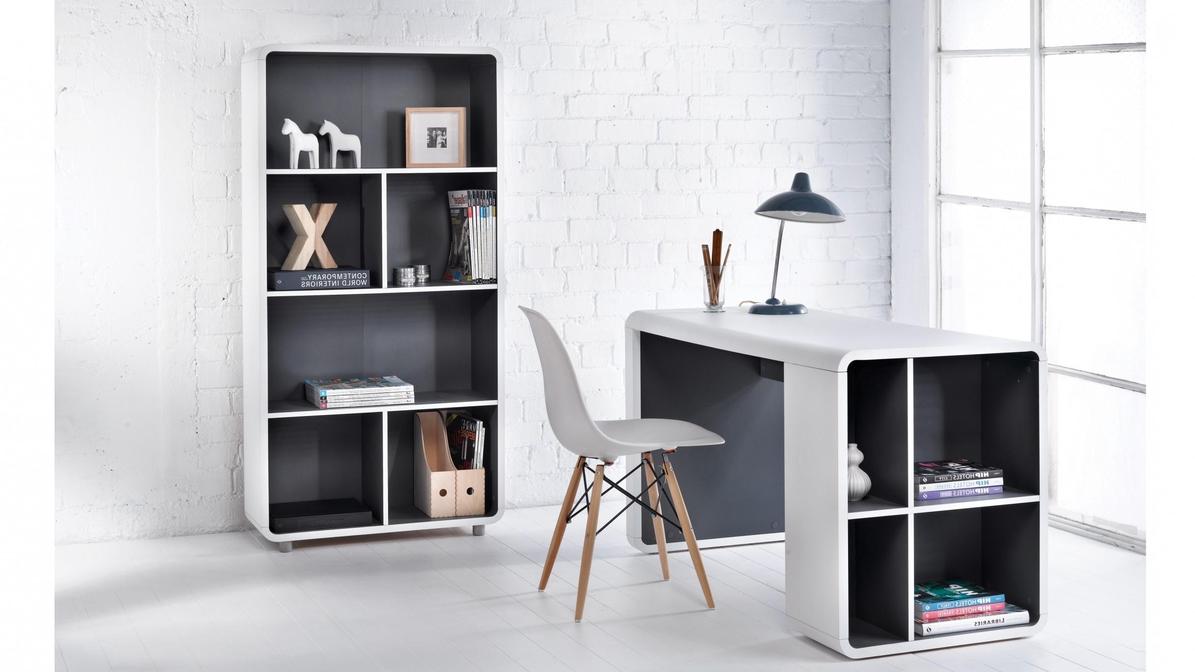 Recent Orbit Bookshelf Desk (View 17 of 20)