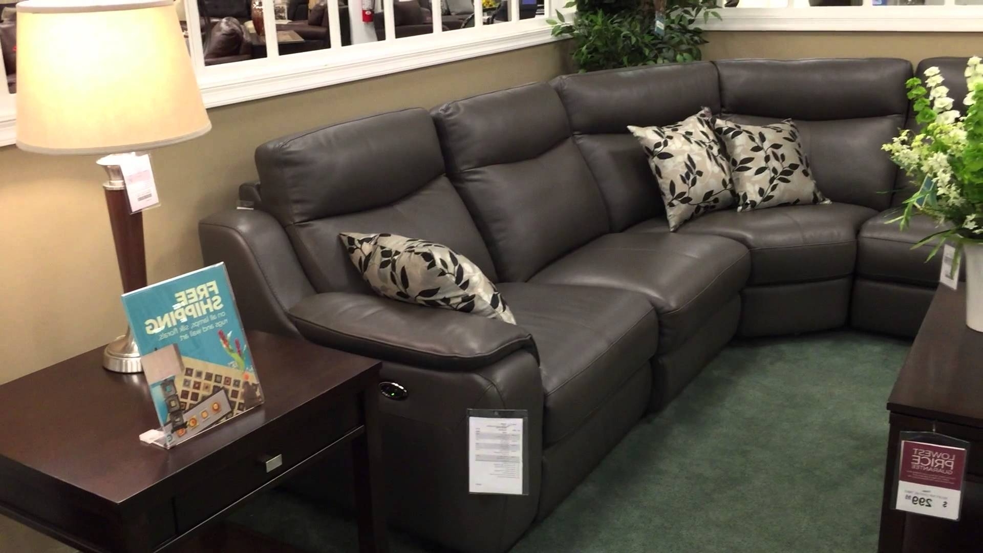 Recent Raymour And Flanigan Sectional Sofas Inside Raymour & Flanigan Cherry Hill – Youtube (View 8 of 20)