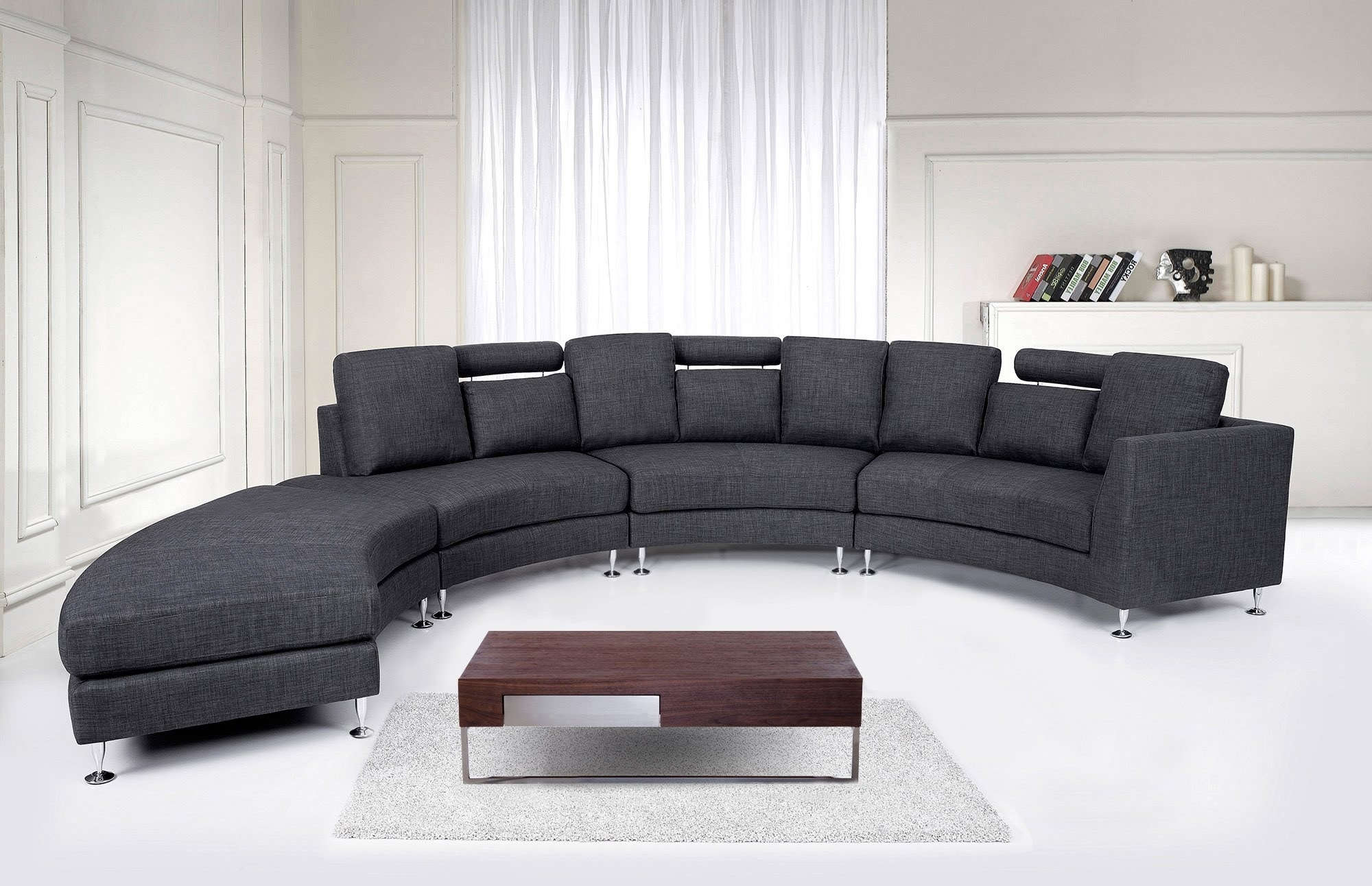 Recent Round Sofa (View 11 of 20)