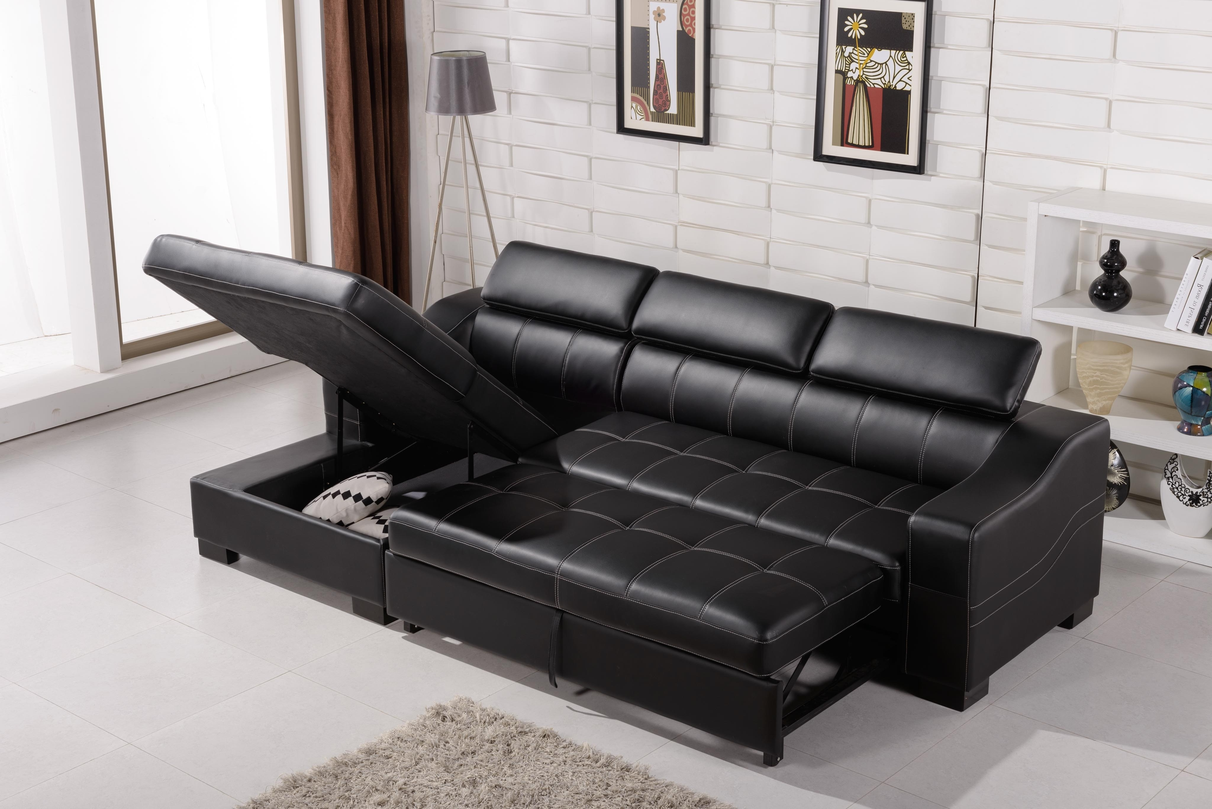 Recent Sectional Sofas That Turn Into Beds With Sectional Sofa That Turns Into A Bed • Sofa Bed (View 2 of 20)