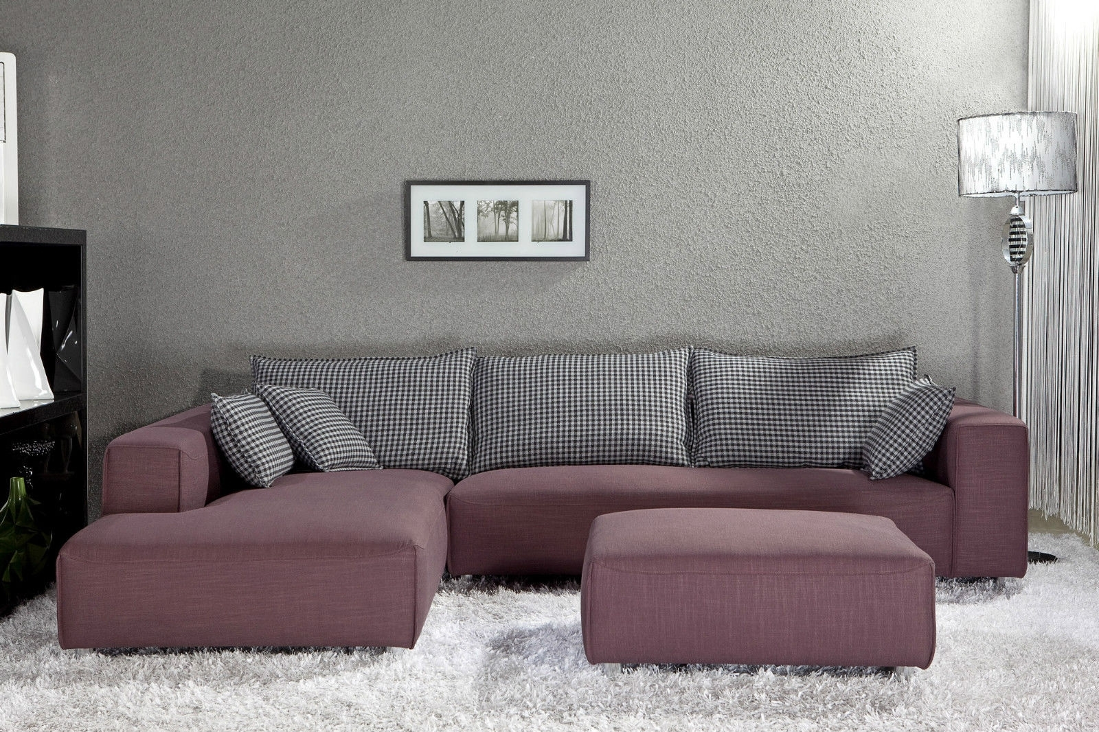 Recent Sofa : Bedroom Sofa Narrow Chaise Sofa Grey Sofa Leather Chaise Pertaining To Narrow Spaces Sectional Sofas (View 15 of 20)