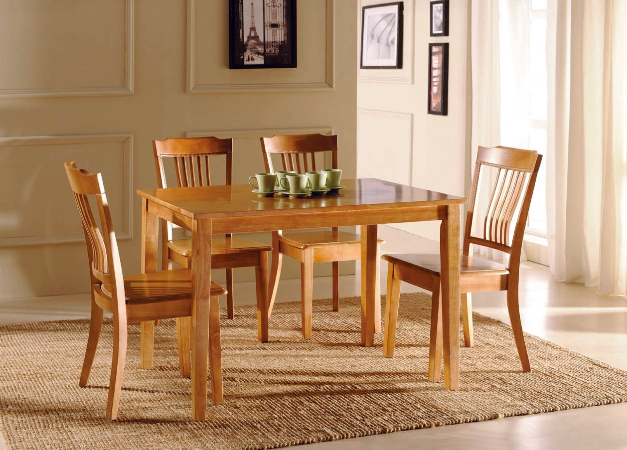 Recent Sofa Chairs With Dining Table Inside Retro Wooden Dining Table Chair Room Furniture (View 10 of 20)