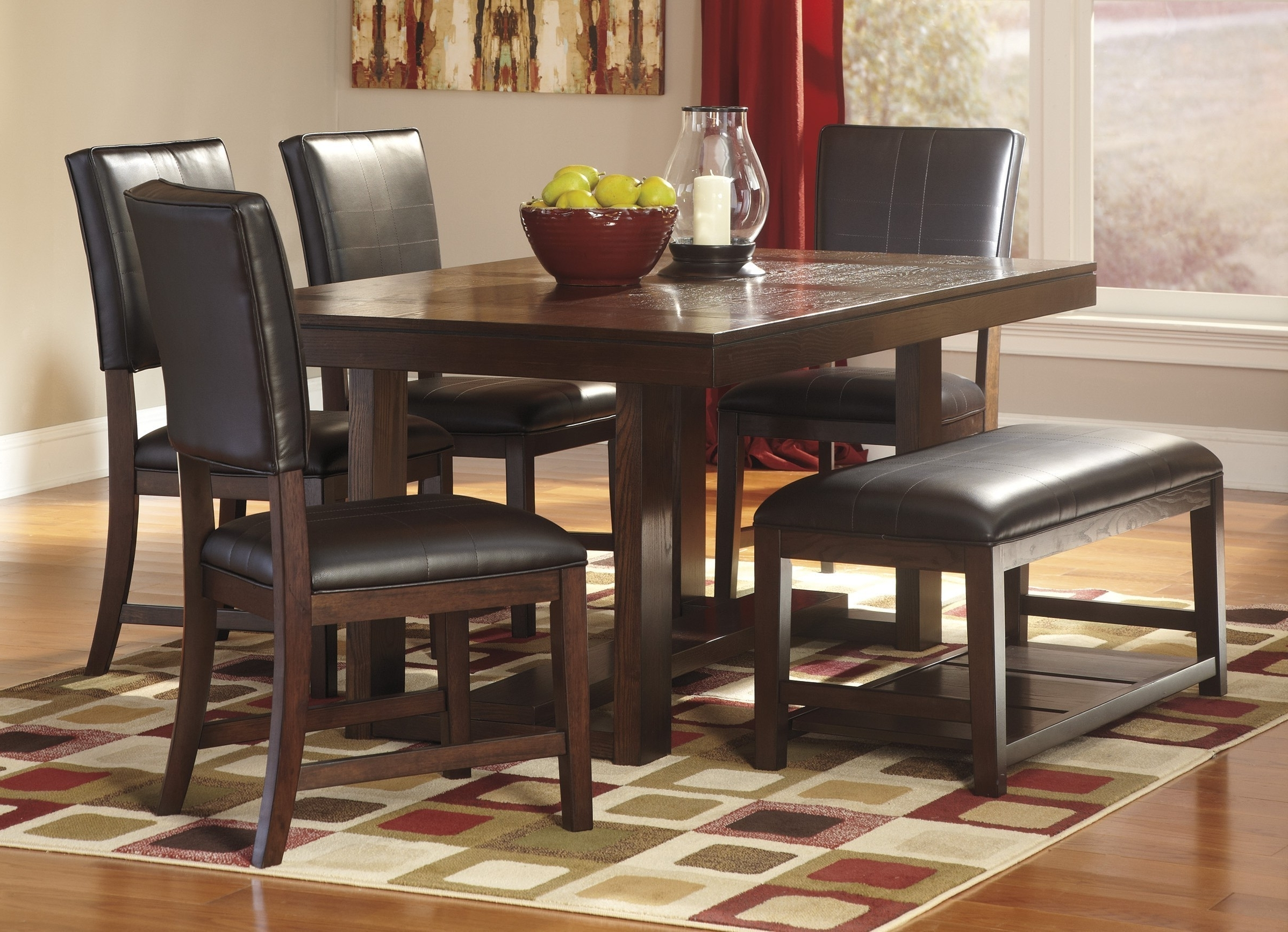 Recent Sofa Chairs With Dining Table Intended For Best Ashley Furniture Round Dining Room Sets Ideas – Liltigertoo (View 11 of 20)