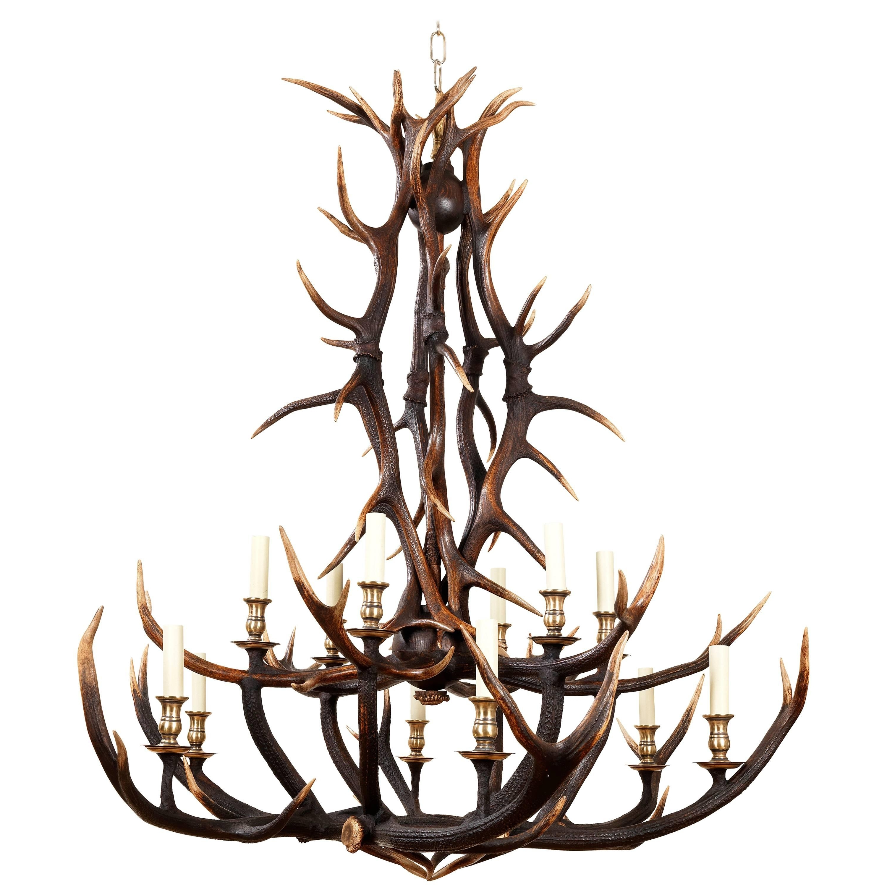 Recent Stag Horn Chandelier With Regard To Anthony Redmile Scottish Red Deer Antler Or Stag Horn Chandelier For (View 12 of 20)