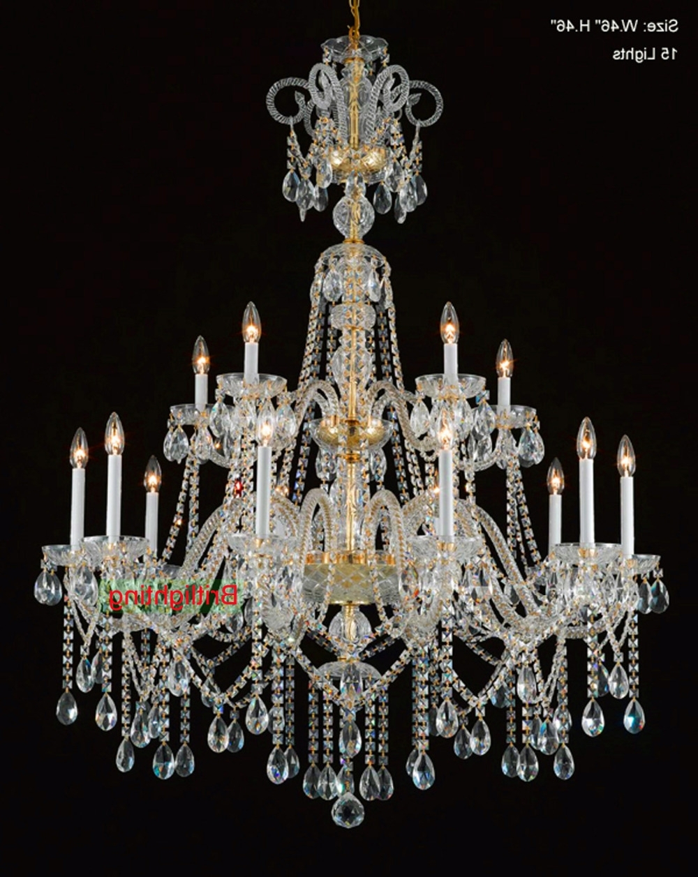 Recent Traditional Crystal Chandeliers With Regard To Brilliant Traditional Crystal Chandeliers Popular Traditional (View 10 of 20)