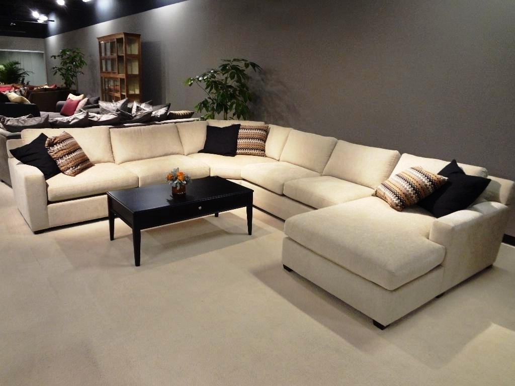 Recent U Shaped Leather Sectional Sofas With Regard To Leather U Shaped Sectional Sofa Clearance : The Ultimate U Shaped (View 8 of 20)