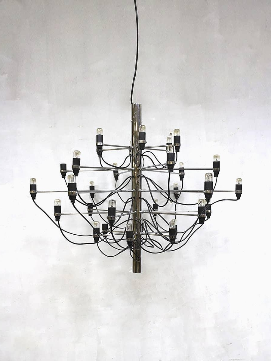 Recent Vintage Chandeliergino Sarfatti For Flos For Sale At Pamono Intended For Vintage Chandelier (View 11 of 20)