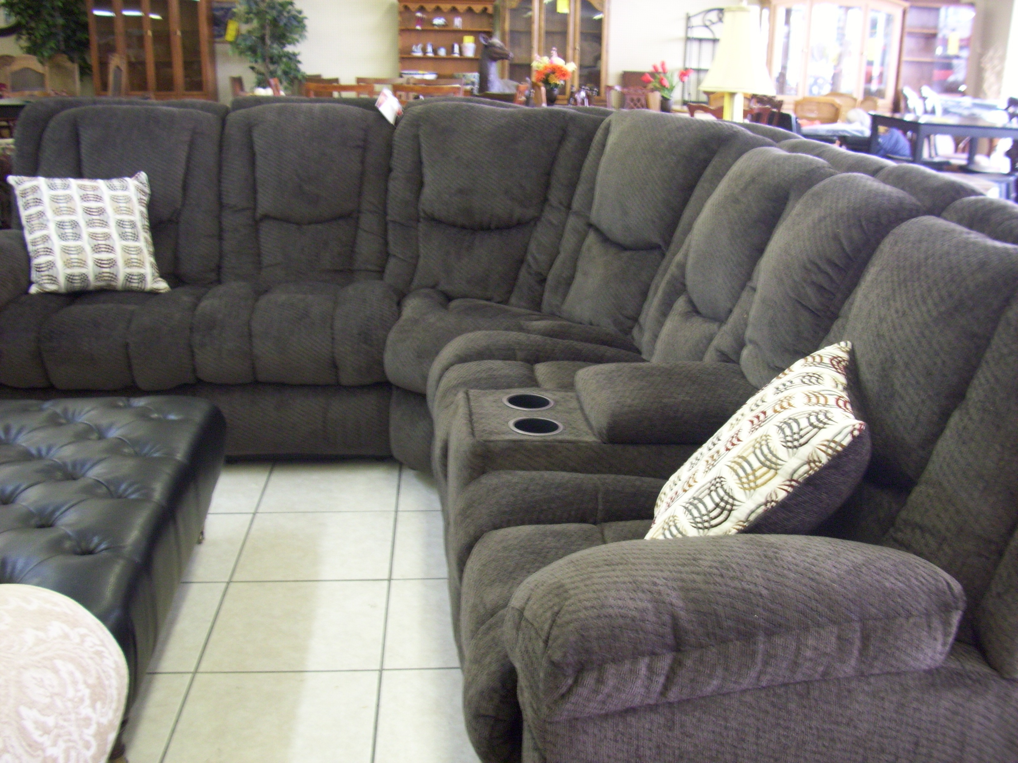 Recliner : Ideal Sectional Sofa With Recliner Leather Hypnotizing Throughout Well Known Sectional Sofas At Bangalore (View 9 of 20)
