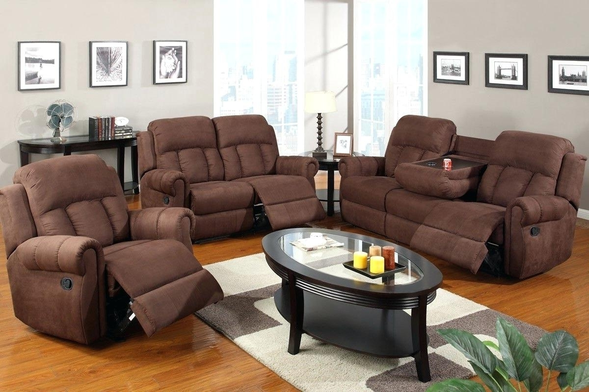 Recliner Sofas Sofa Sets Uk Reclining And Loveseats Lane Within Well Liked Sofas With Consoles (View 12 of 20)