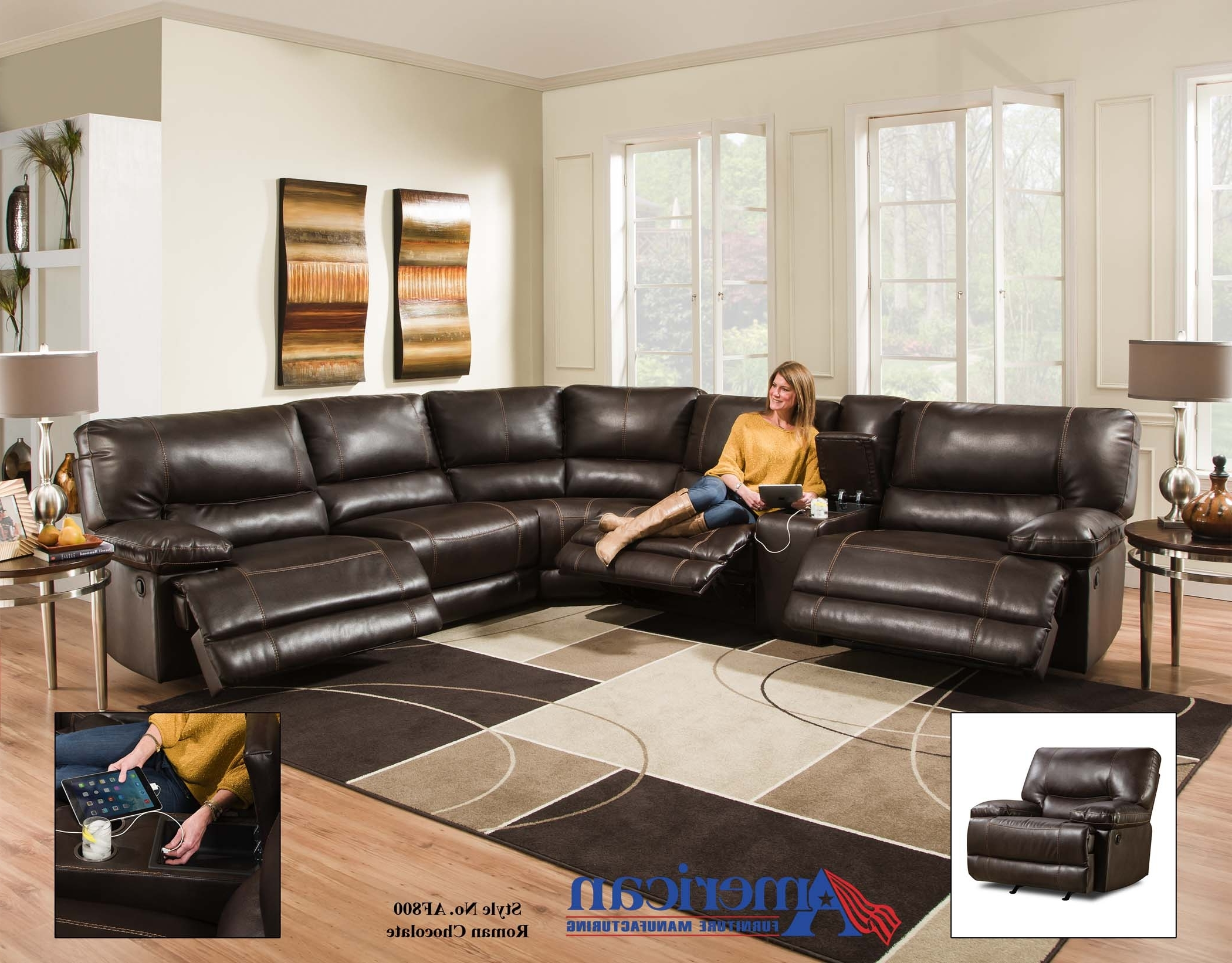 Reclining Sectionals – The Edge Furniture – Discount Furniture Regarding Most Recent Sectional Sofas In San Antonio (View 14 of 20)
