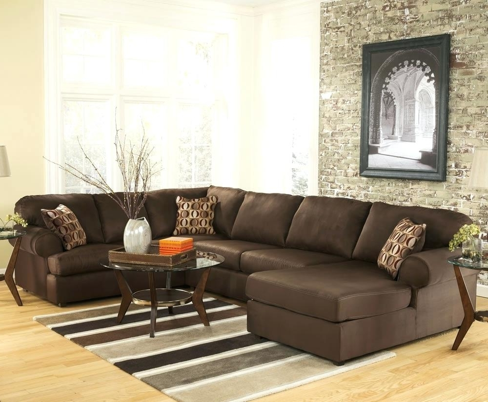 Reclining U Shaped Sectionals With Regard To Recent U Shaped Sectional Sofa L Broken White Leather With Recliner And (View 11 of 20)