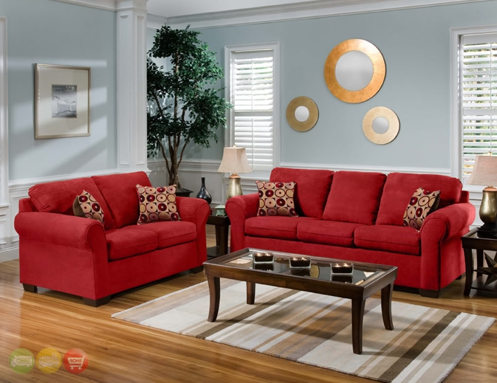 Red Couch Living Room (View 15 of 20)