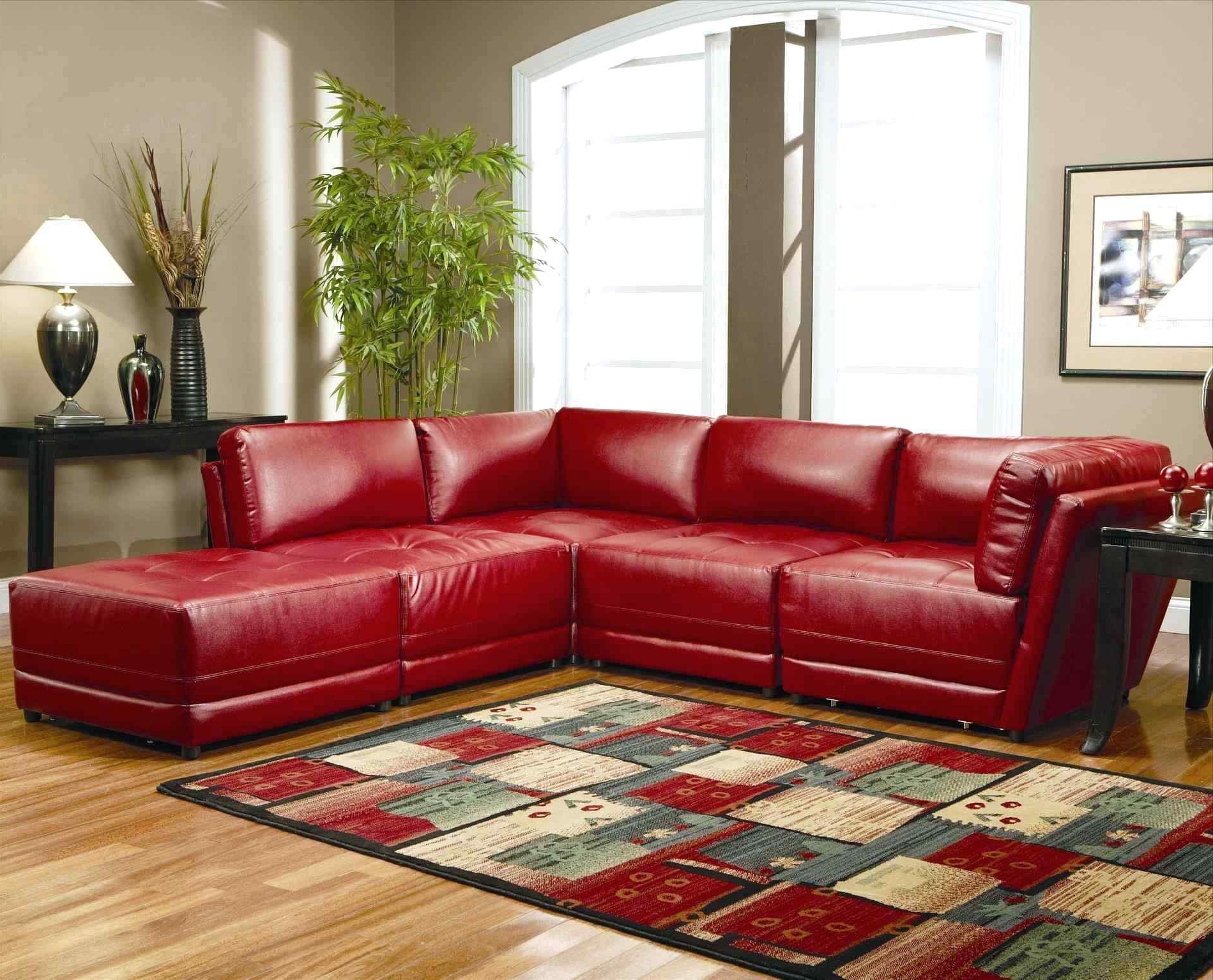 Red Leather Couches For Living Room Pertaining To Favorite Stunning Red Leather Couch Living Room Ikea Klippan U (View 17 of 20)